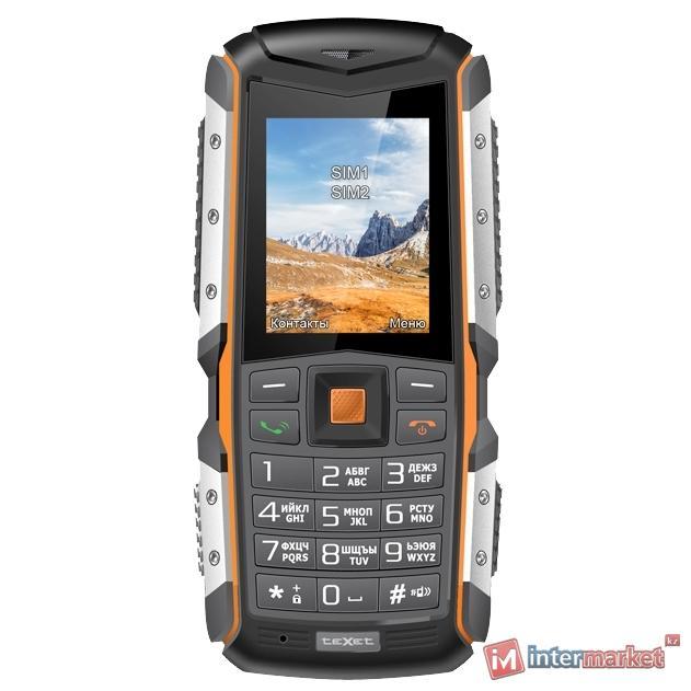 Мобильный телефон teXet TM-513R (черно-оранжевый)