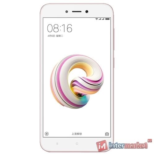 Смартфон Xiaomi Redmi 5A, розовое золото