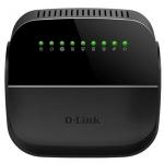 Модем D-Link DSL-2740U/R1A ADSL, Беспроводной, 300M, ADSL2+router, Порт ADSL с разъемом RJ-11, 4 порта LAN 10/100BASE-TX