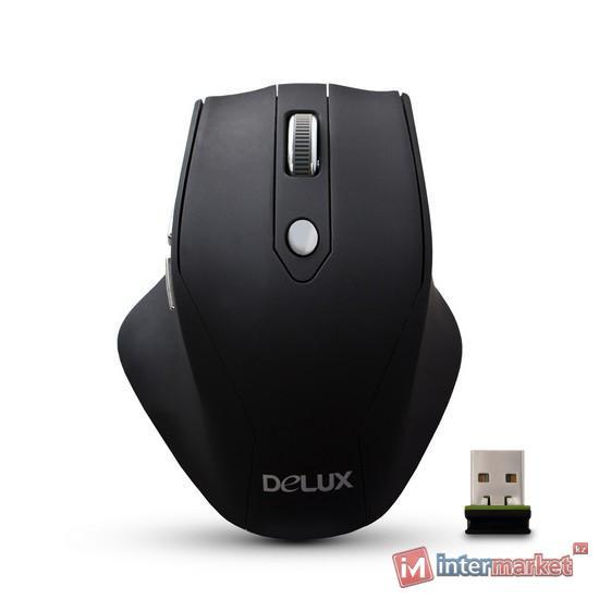 Мышь Delux DLM-530OGB Чёрный