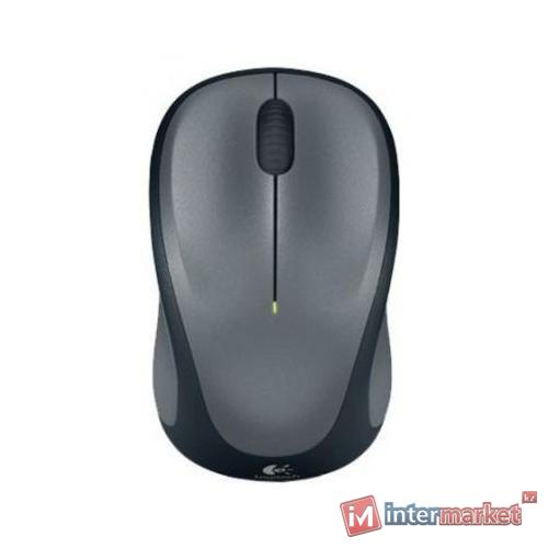 Logitech Wireless Mouse M235 Grey-Black USB