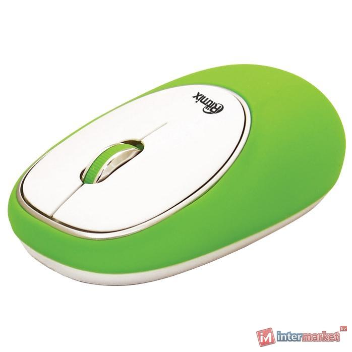Мышь Ritmix RMW-250 Antistress White-Green USB