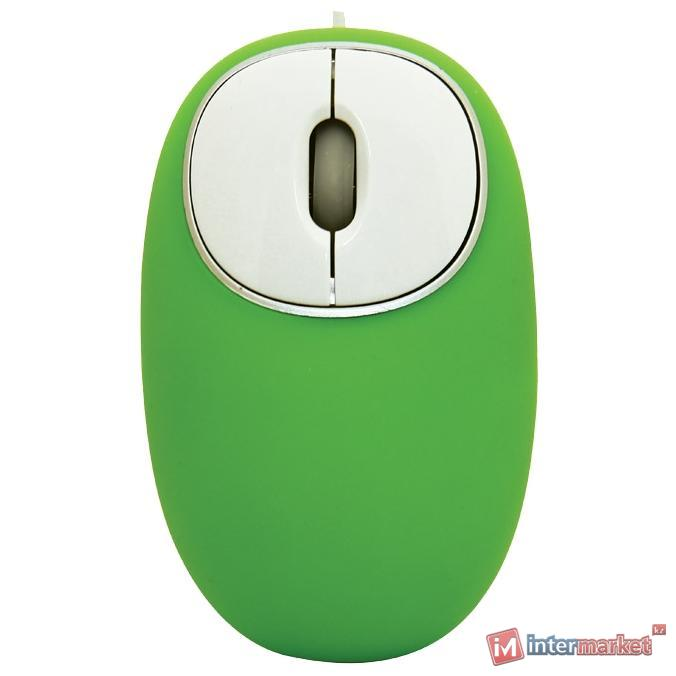 Мышь Ritmix ROM-340 Antistress White-Green USB