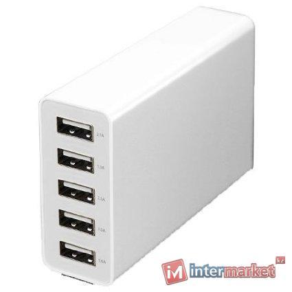 Зарядка, USB iconBIT FTB Five, на 5 USB портов