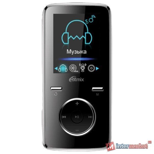 MP3 плеер RITMIX RF-4950 8Gb черный