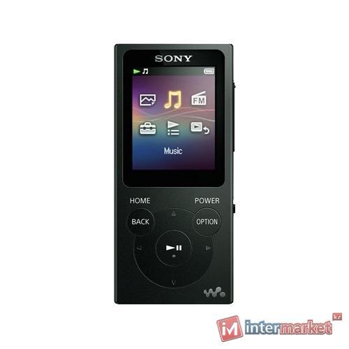 MP3 плеер Sony NWE395B.EE черный