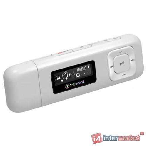 MP3-плеер Transcend T.sonic 330 8GB, White