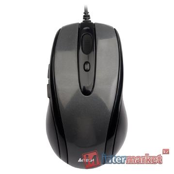 Мышь A4Tech N-708X Black USB