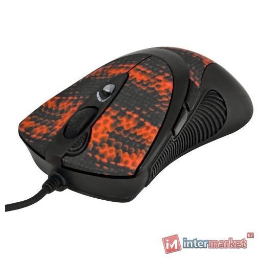 Мышь A4Tech XL-740K, Black-Red, USB