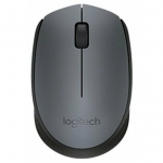 Мышь Logitech M170 Wireless Mouse Black-Grey USB