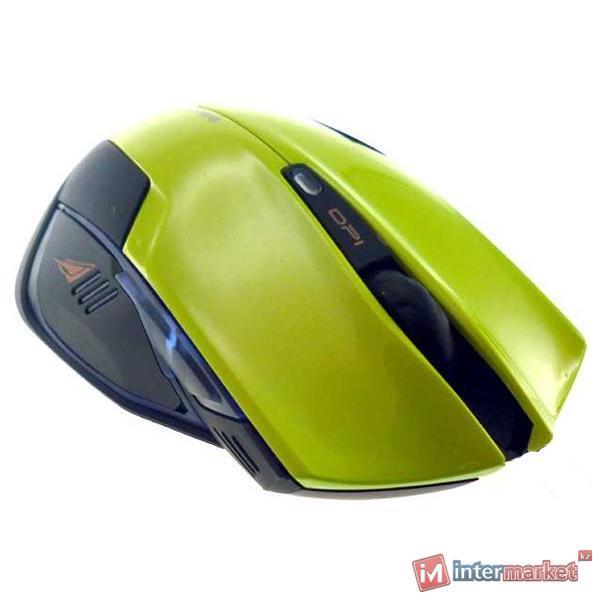 Мышь e-blue Cobra Mazer Type-R (EMS124GR) Green USB