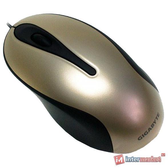 Мышь Gigabyte M5100, Gold, USB