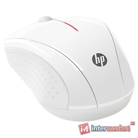 Мышь HP x3000, White, USB