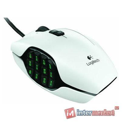Мышь Logitech G600 MMO Gaming Mouse White USB