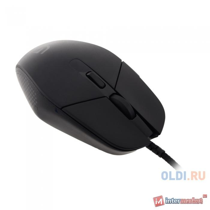 Мышь Logitech Gaming Mouse G303, Optical, 12000 dpi, Black, USB