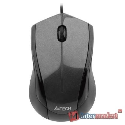Мышь A4Tech N-400-1 Black USB