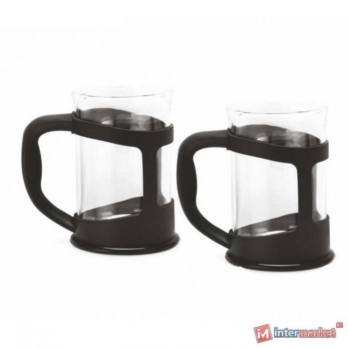 Набор черных чашек для чая/кофе (2пр) Berghoff 1106831