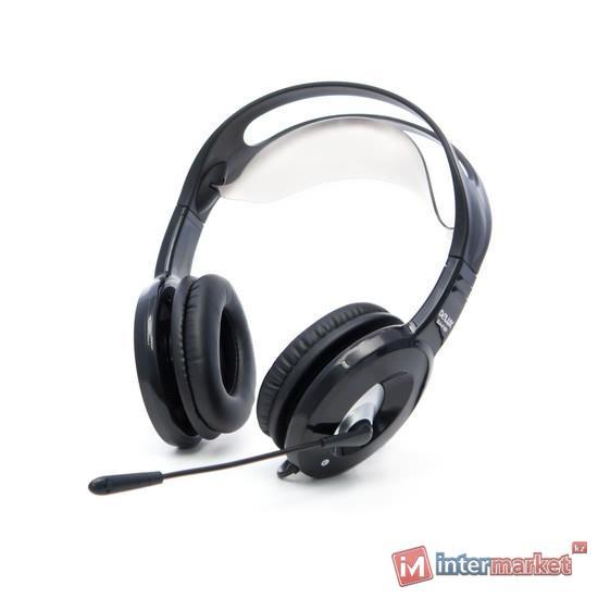 Наушники, Delux DLH-4180 (Чёрный)