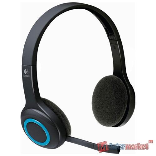 Наушники + микрофон Logitech H 600 беспроводные (981-000342)