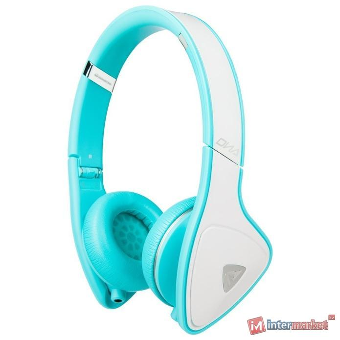 Наушники  Monster Dna On-Ear White-Cyan