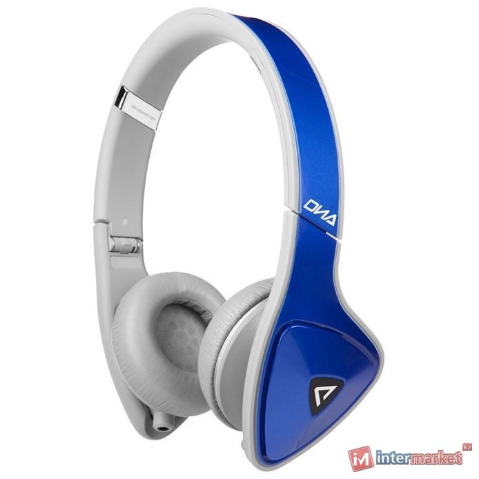 Наушники  Monster Dna On-Ear White-Blue