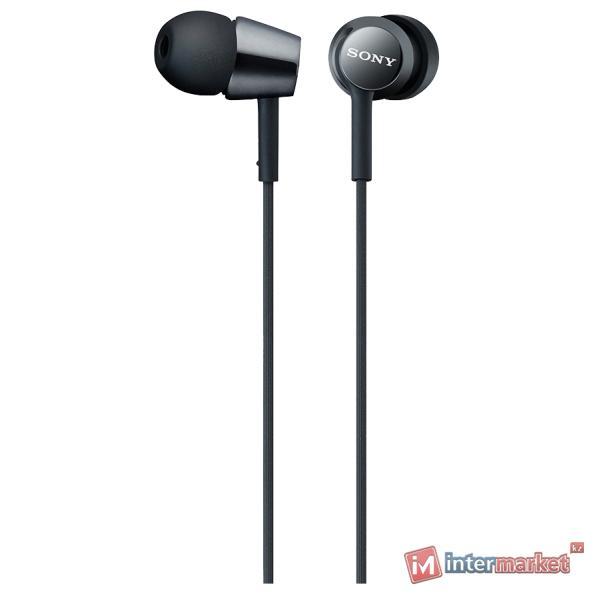 Наушники Вставные Sony MDR-EX150AP, Black