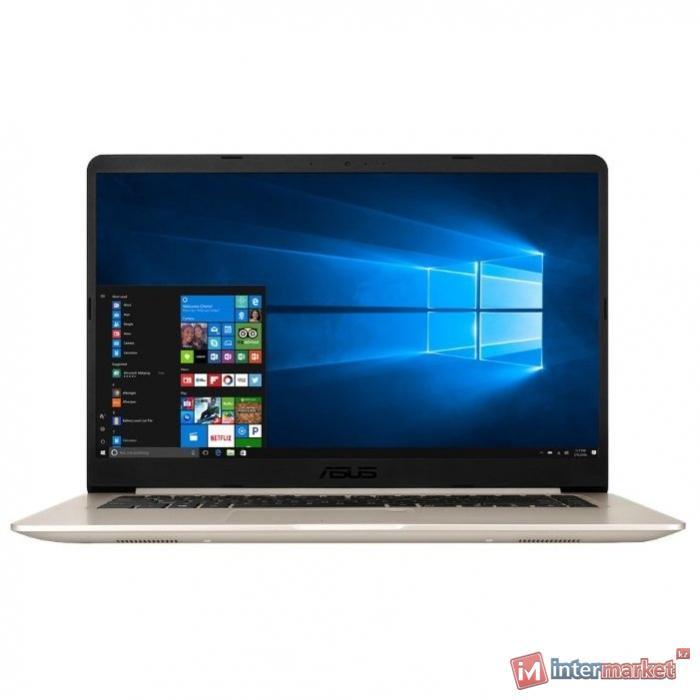 Ноутбук ASUS VivoBook S15 S510UQ, Core i7-7500U-2.7/256GB SSD/8GB/GT940MX-2GB/15.6