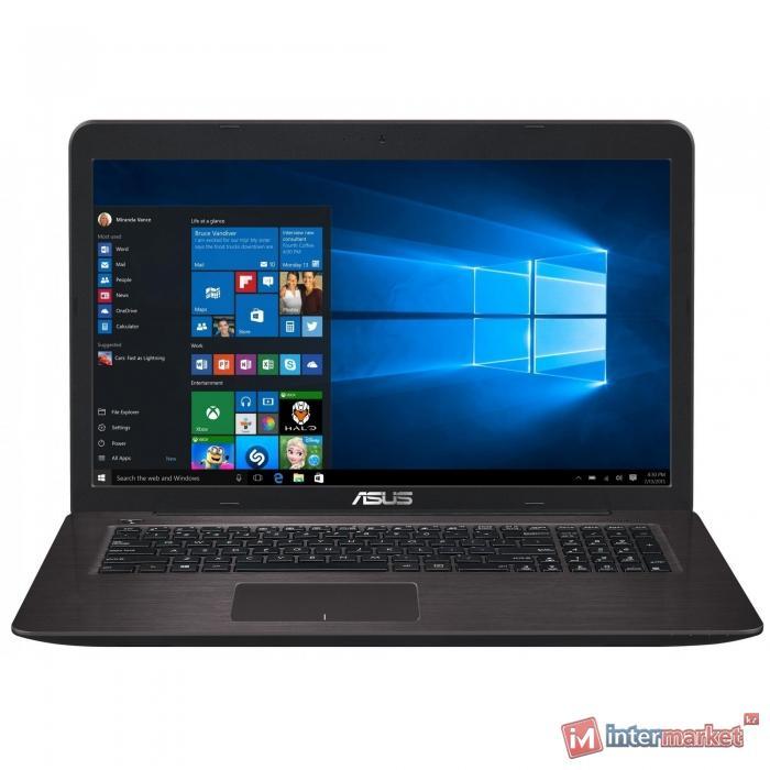 Ноутбук ASUS X756UQ Brown (Intel Core i3 7100U 2400 MHz/17.3