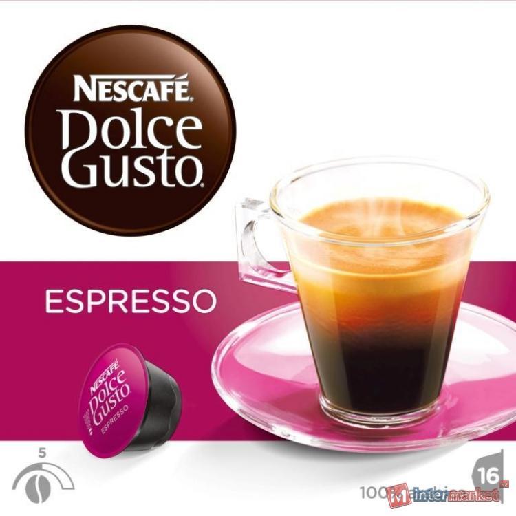 NESCAFE® DOLCE GUSTO® Espresso, 16 капсул