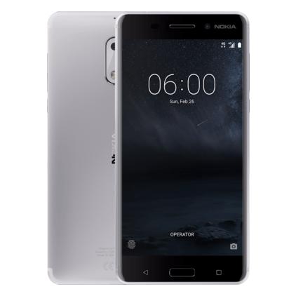 Смартфон Nokia 6 32Gb, Silver