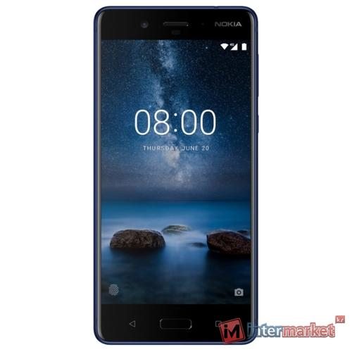 Смартфон Nokia 8 Dual sim, Blue