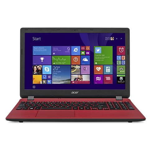 Ноутбук Acer ES1-571 (Core i3/5005U/2 GHz/4 Gb/500 Gb/DVD+/-RW/Graphics/HD/256 Mb/15,6 ''/1366x768/Linux/Red)