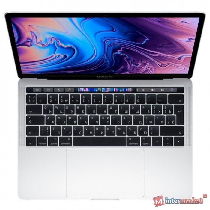 Ноутбук Apple / MacBook Pro 13 Touch Bar Silver MUHR2RU/A