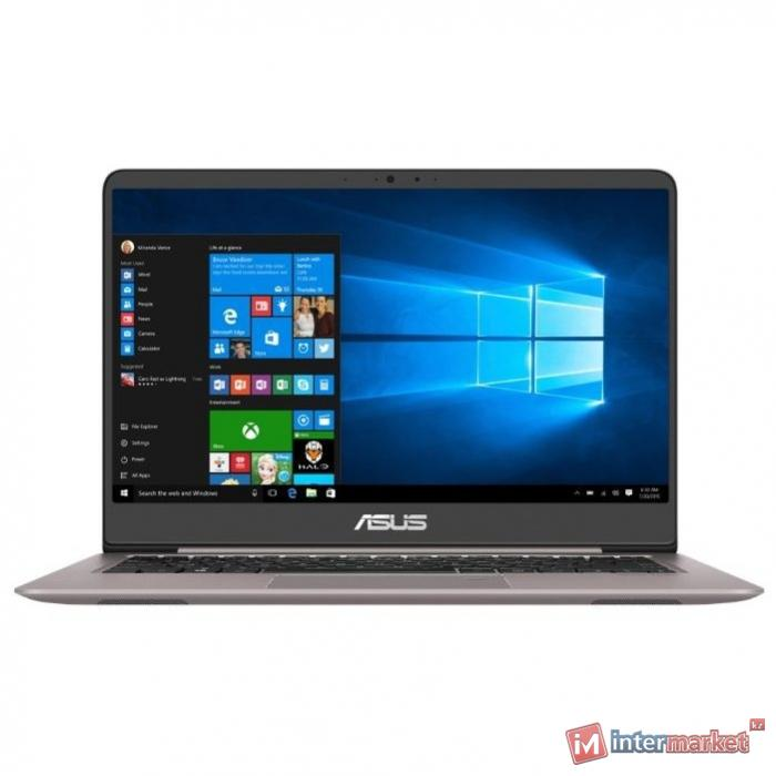 Ноутбук ASUS UX410UF-GV027T (Core i5-8250U/14.0 FHD/8GB/1TB+128GB SSD/GeForce MX130 2GB/noODD/Windows 10/QUARTZ GRAY)