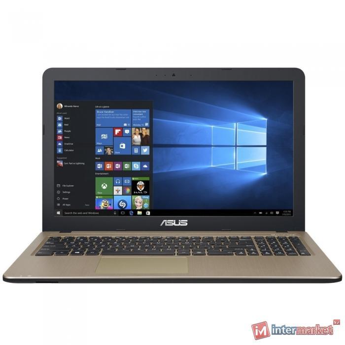 Ноутбук ASUS X540UV-DM021T (Core i5-7200U/15.6 FHD/4GB/1TB/GeForce 920MX 2GB/DVD/Windows 10/Chocolate Black)