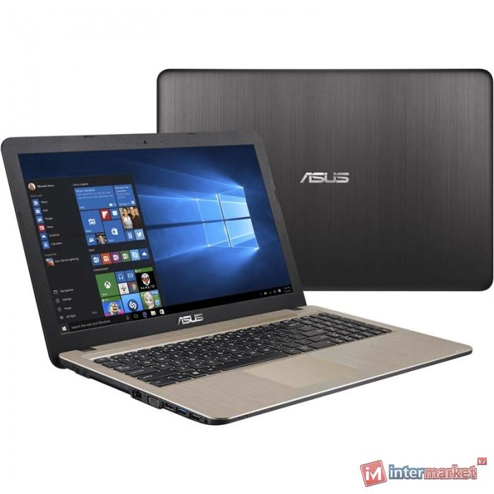 Ноутбук ASUS X541UV-XO785T (Intel Core i3-6006U/15.6 HD/4GB/1TB/NVIDIA GeForce 920MX 2GB/noODD/Windows 10/Chocolate Black)