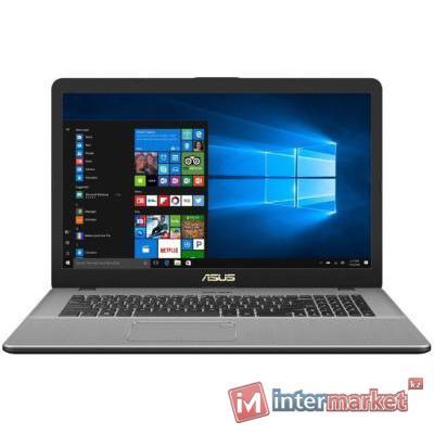 Ноутбук ASUS X705UV-GC018T/Core i7-7500U/17.3 FHD/4GB/1TB+128GB SSD/NVIDIA GeForce 920MX 2GB/DVD/Windows 10/GRAY