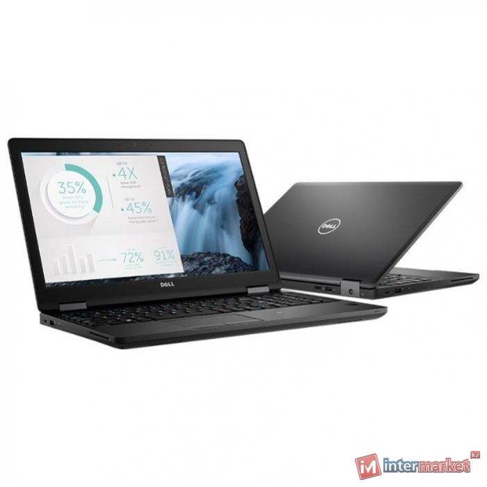 Ноутбук Dell 15,6 ''/Latitude 5580 /Intel Core i5 7300U 2,6 GHz/8 Gb /500 Gb 7.2k /Без оптического привода /Graphics HD620 256 Mb /Windows 10 Pro 64 Русская