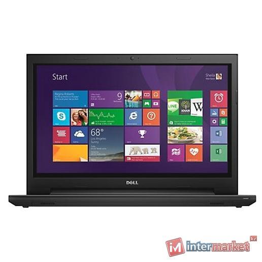 Ноутбук DELLINSPIRON 3542 (Pentium/3558U/1,7 GHz/2 Gb/500 Gb/DVD+/-RW/Graphics/HD 4000/256 Mb/15,6 ''/Windows 10/Home/64/SL/Black)