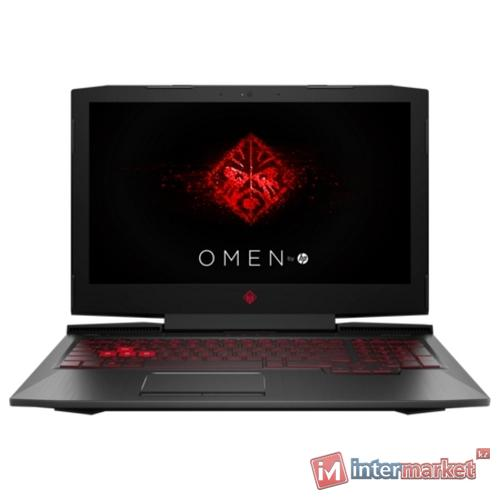 Ноутбук HP Omen 15-ce026ur/15.6 FHD/CORE I7-7700HQ/16GB/1TB+128GB SSD/NVIDIA GEFORCE GTX 1050 4GB/noODD/Windows 10/SHADOW BLACK