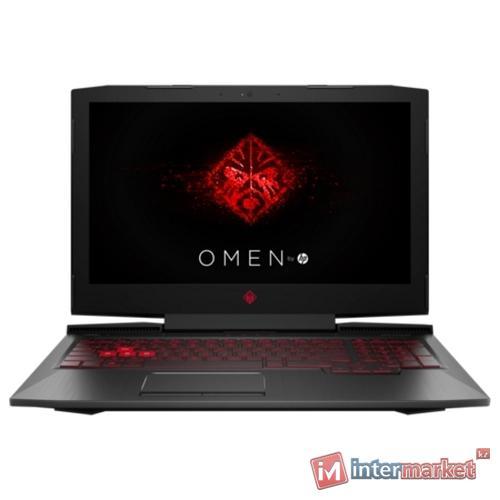 Ноутбук HP Omen 15-ce027ur/15.6 UHD/CORE I7-7700HQ/16GB/2TB+256GB SSD/NVIDIA GEFORCE GTX 1050TI 4GB/noODD/Windows 10/SHADOW BLACK
