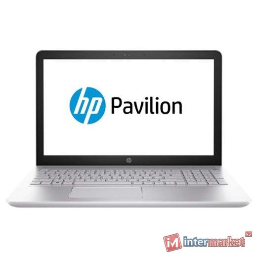 Ноутбук HP Pavilion 15-cc014ur/Intel CORE I7-7500U/15.6 FHD/4GB/1TB/NVIDIA GEFORCE GT 940MX 2GB/DVD/Windows 10/MINERAL SILVER