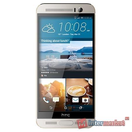 Смартфон HTC One (M9+) EEA Gold on silver