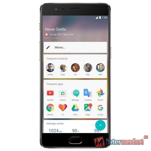 Смартфон OnePlus OnePlus 3T 64Gb, Gunmetal