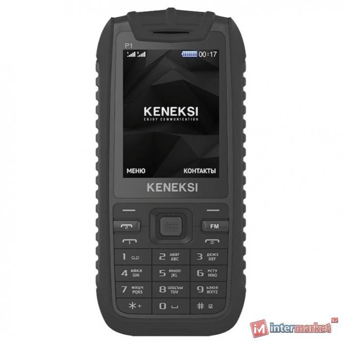 Мобильный телефон KENEKSI P1, Black