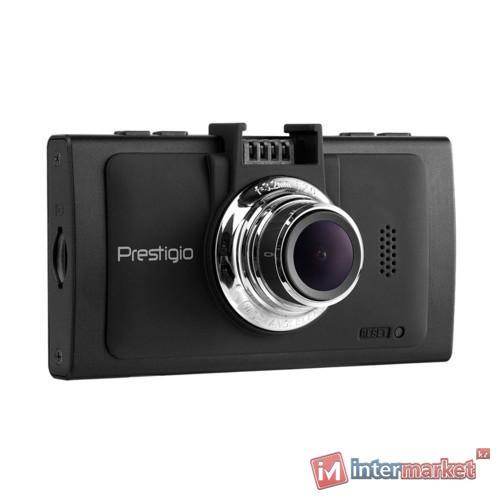 Автомобильный видеорегистратор Prestigio RoadRunner 570GPS Black PCDVRR570GPSB