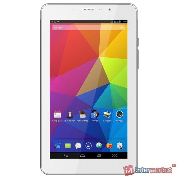 Планшет TeXet X-pad iX 7 3G, 8Gb, Wi-Fi, White