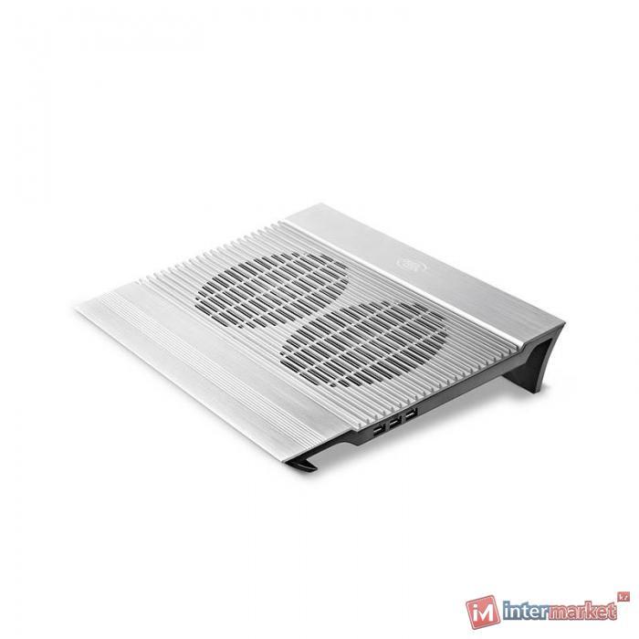 Подставка для ноутбука DeepCool N8, Silver
