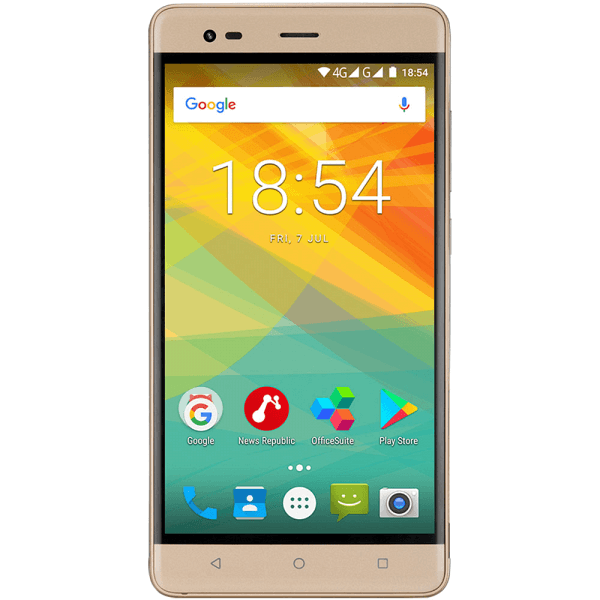 Смартфон Prestigio Grace R5 LTE Golden