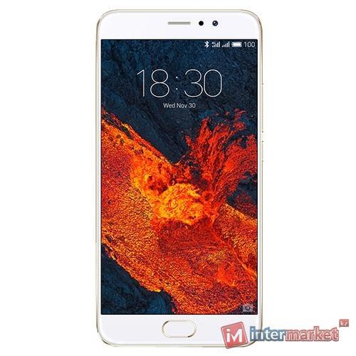 Смартфон Meizu Pro 6 Plus 64GB, Gold